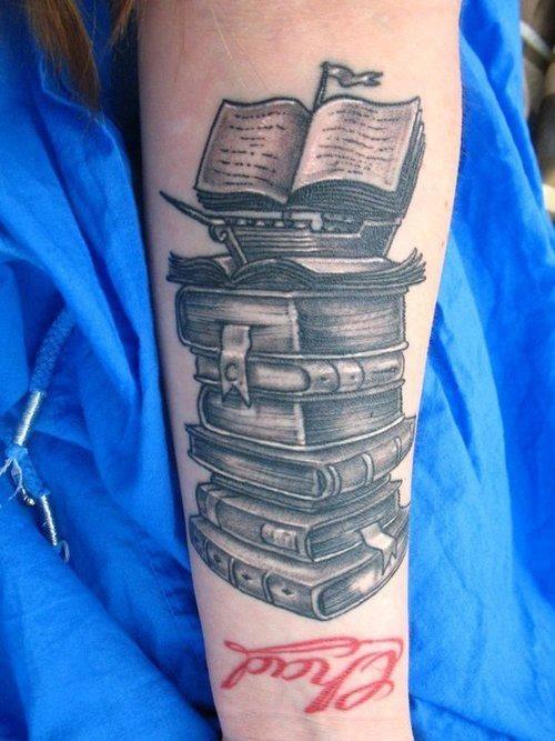 Book Tattoos Tattoos Of Books